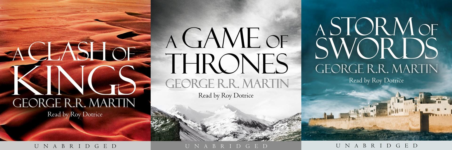A Song of Ice and Fire Audiobooks